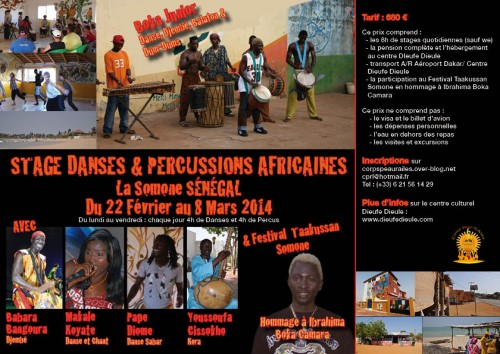 flyer stage fevrier 2014
